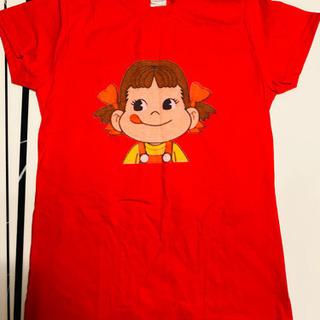 【未使用】不二家 ペコちゃん Tシャツ