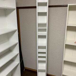 IKEA シェルフユニット GNEDBY ホワイト 中古品