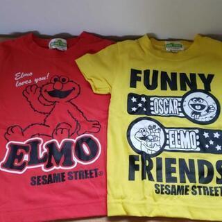 エルモなどのキャラクターTシャツ二枚