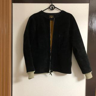【ネット決済・配送可】ジャケット スエード GERGA