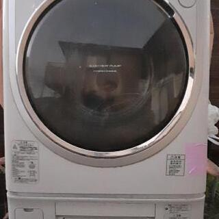 TOSHIBA全自動洗濯乾燥機(ジャンク)