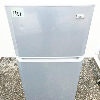 ②1121番 Haier✨冷凍冷蔵庫✨JR-N106E‼️