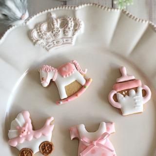 【ご案内】ブローチみたいなベビーアイシングクッキー♡