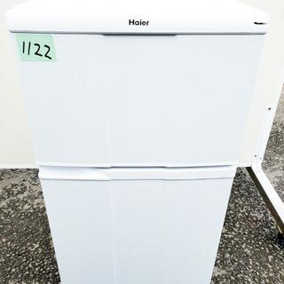 ②1122番 Haier✨冷凍冷蔵庫✨JR-N100C‼️