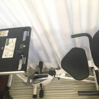 【新品購入後3か月利用のみ】IRONMAN CLUB(鉄人倶楽部) デスク付 エアロバイク IMC-61 - 売ります・あげます