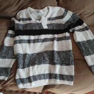タグ付き新品メンズMセーター