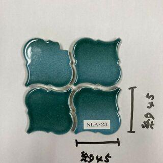 タイル コラベル (緑)