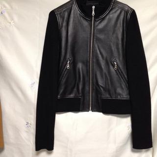 🌼値下げました🌷本皮とウールのジャケット