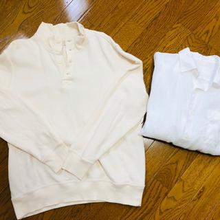 受け渡し先決定しました!メンズ スウェット 白シャツ GU