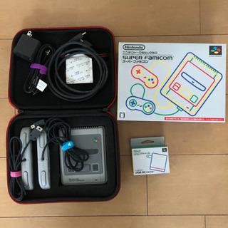 【ケース付】【箱付き】任天堂クラシックミニ スーパーファミコン