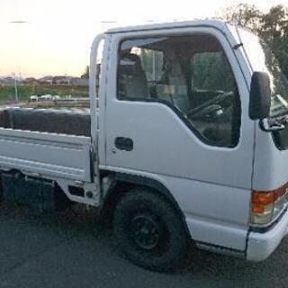 エルフ トラック 2トン いすゞ 平ボデー 車検付 低床 軽油