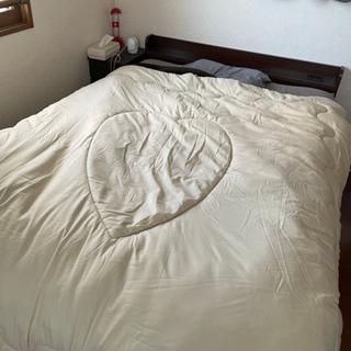 取りに来ていただける方ベッド・マットレス 【サイズ:ダブル】