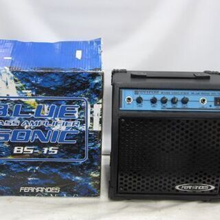 フェルナンデス☆ベースアンプ BS-15 BLUE SONIC ...