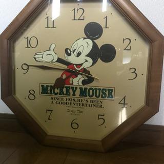 ディズニーの掛時計