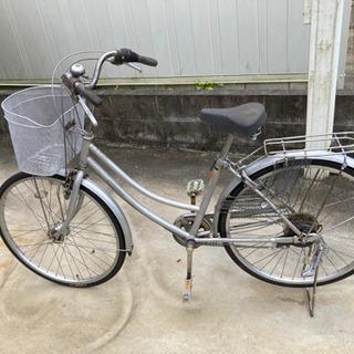 26インチ 自転車 シマノ6段変速付 VACETO 再生品