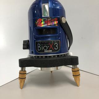 【ネット決済・配送可】Bio-X3 レーザー墨出し器11000円