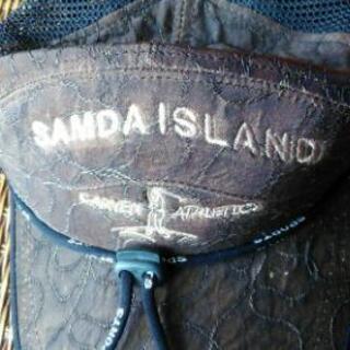ゴルフ帽子 茶 SAMDA ISLAND   CARUEN AT...