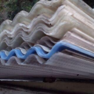 【ネット決済】未使用屋根壁用エスロン並板長期倉庫保管物4種類13...