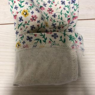 花柄ズボン