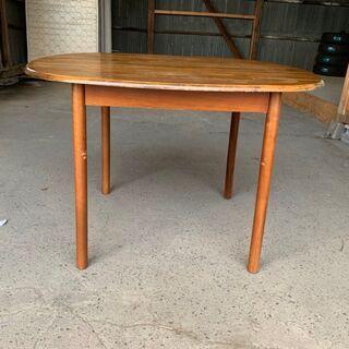 【無料】食卓テーブル 丸テーブル KG-HO-0027 木製 無...