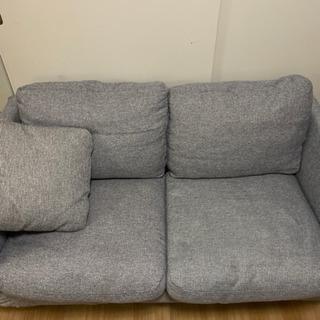 ニトリ ソファ グレー - 家具