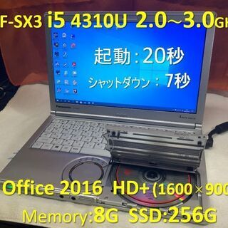 Let's note CF-SX3 i5 2.0G SSD:25...