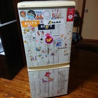 (取り引き中)シャープ冷蔵庫あげますの画像