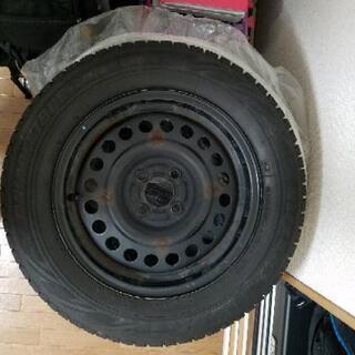 185/65R15スタッドレスタイヤホイールセット4本