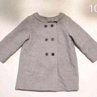 新品 OSHKOSH グレー リボン コート 100 花柄 ジャケット