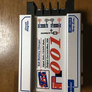 ♪♪ 走行充電器 SBC-001B  MAX30A ㈱ニューエラ...