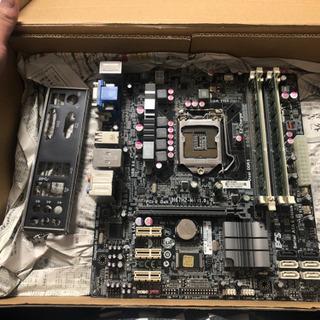ECS H67H2-M4 バックパネル・GPU・メモリ8GB付き