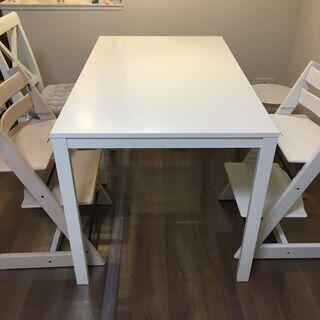【ネット決済】【手渡しのみ】IKEA ダイニングテーブル