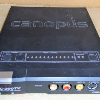 ☆カノープス Canopus ADVC-200TV アナログ-D...
