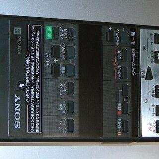 SONYビデオ用リモコン RMT-V60 美品 値下げ