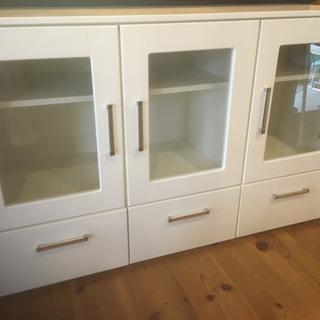 ニトリ 食器棚 2個セット 1個でも可 - 家具