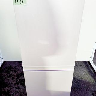 ②1173番 シャープ✨ノンフロン冷凍冷蔵庫✨SJ-14T-C‼️