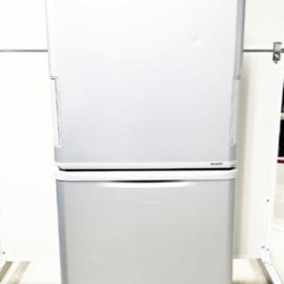 ①‼️大容量‼️1313番 シャープ✨ノンフロン冷凍冷蔵庫✨SJ...