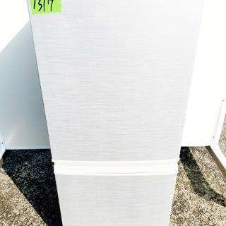 ①1317番 シャープ✨ノンフロン冷凍冷蔵庫✨SJ-14Y-S‼️