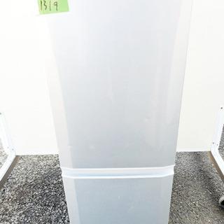 ①1319番 三菱✨ノンフロン冷凍冷蔵庫✨MR-P15S-S‼️
