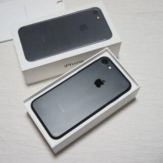 【ネット決済・配送可】【美品】iPhone7 SIMフリー ブラ...