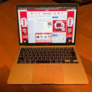 【美品】MacBook Air 2020 256GB ゴールド【...