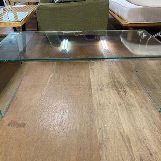 値下げ‼︎総ガラス張り ローテーブル