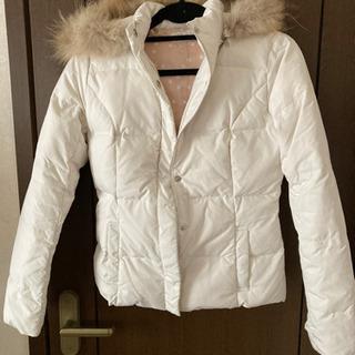 ダウンコート ダウンジャケット ホワイト Mサイズ