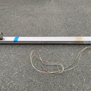 機能門柱 防雨照明付き ポスト、インターホン取付可能の画像