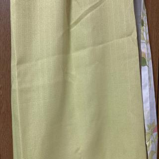 【値下げ】カーテン4枚セット 長さ130cm×幅100cm