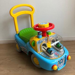 子供おもちゃ トーマス 車 押したり乗ったり!