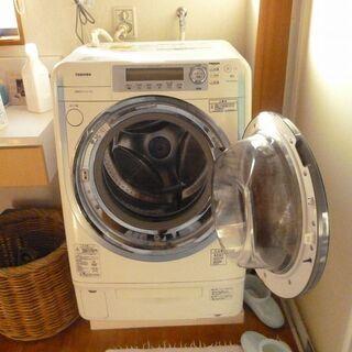 松山市 ドラム式洗濯機(東芝TW-Q740R)差し上げます。