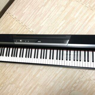 電子ピアノ KORG SP 170S BK 【引き取り限定】