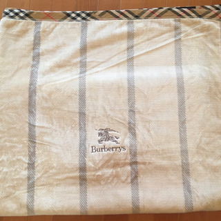 【希少】美品!Burberrysの綿100%毛布