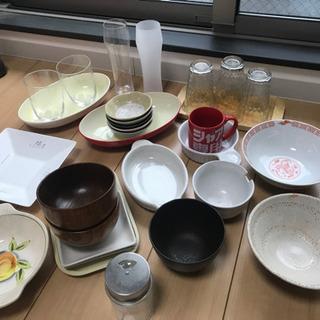 食器 グラス、耐熱皿、小鉢、どんぶりなど 中古品